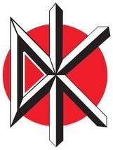 Dead Kennedys shaped logo vinyl sticker 100x77mm Jello Biafra punk  - $3.11