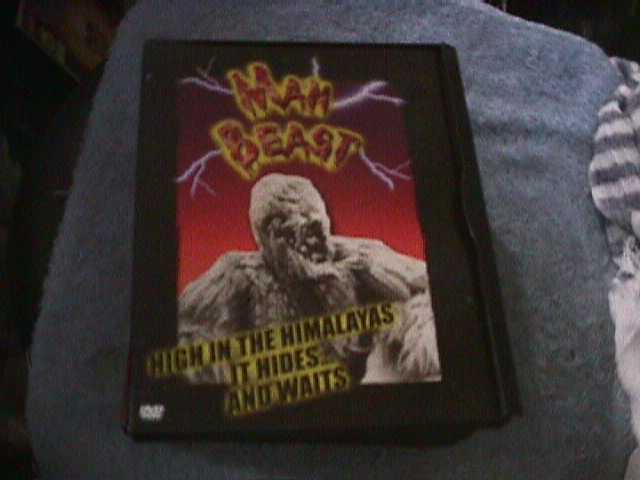 Man Beast (DVD, 2002)
