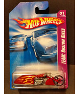 2008 Hot Wheels #149 Team Custom Bikes 1/4 - Pit Cruiser - M6859 1L - $1.85