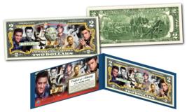 ELVIS PRESLEY Historic Moments Life & Times Genuine U.S. $2 Bill - Licensed - $13.98