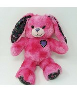 "Build A Bear Easter Bunny Rabbit Pink Plush 16"" Peace Best Friends EUC - $13.96"