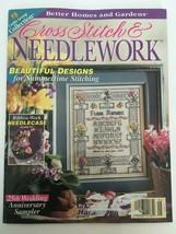 Better Homes and Gardens Cross Stitch & Needlecraft June 1997 Wedding Sampler - $5.39