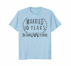 New Shirt -  10 Wedding Anniversary Shirts for Him & Her 10th Year Gifts Men - $19.95+