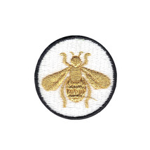 Bumble Bee DIY Iron On Embroidered Applique Patch - $7.95