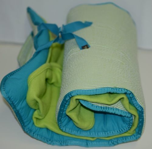 Oh Mint 002BSLIMESeersucker Toddler Nap Roll Color Lime Green