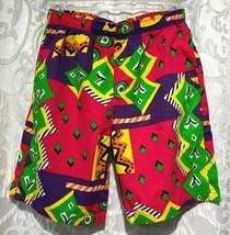8b717e4ecb252 ORIGINAL JAMS Shorts Surf Line Mens Cotton Drawstring Vintage 80s Medium...  - $79.19