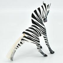 Handmade Alebrijes Oaxacan Copal Wood Carving Folk Art Zebra Horse Figure image 4