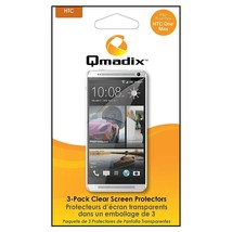 Qmadix Screen Protector for HTC One Max - 3 Pack - Clear - $5.49