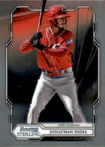 2019 Bowman Sterling Prospects #BPR-24 Jonathan India Reds NM-MT - $18.99