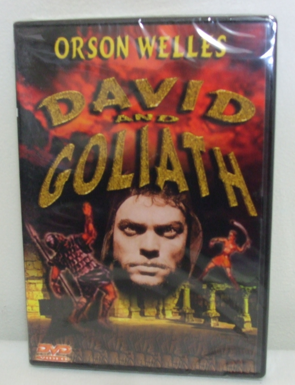 DVD New David and Goliatha Orson Wells