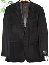 Andrew Fezza Black Mens Warm Wool Cashmere Jacket Size US 42 L Retail $ 300 - $128.69