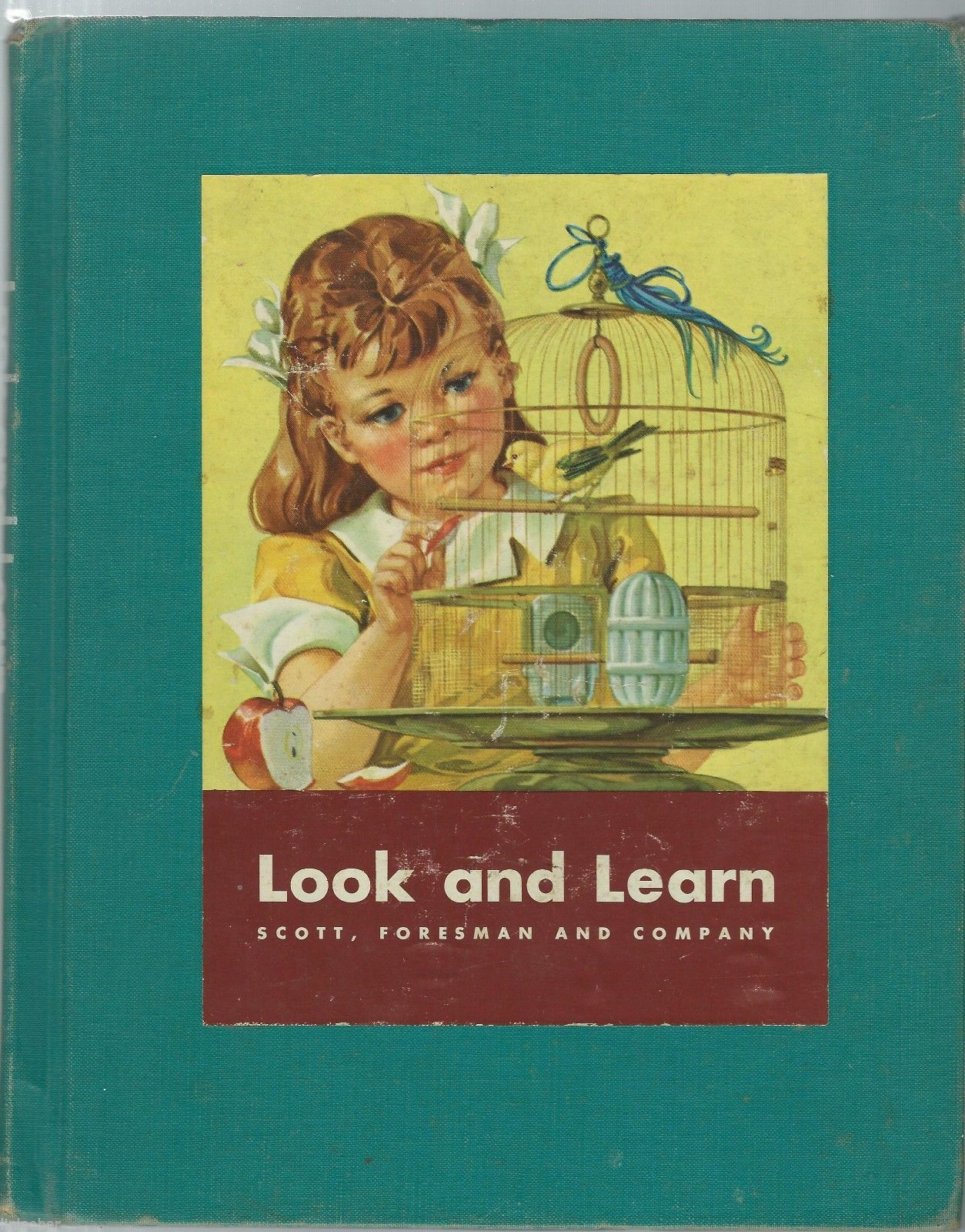 Look And Learn-Basic Studies In Science;Book A,By Wilbur Beauchamp;Teacher Guide