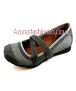 Blossom Collection Womens Gray Flats 10 - $16.99