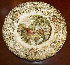 Johnson Brothers MILLSTREAM BROWN MULTICOLOR Bread & Butter Plate 280728 - $10.49