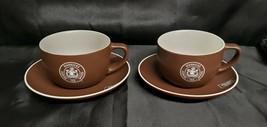 2008 Dark Brown Starbucks Ceramic Cup - $19.80