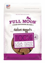 Full Moon All Natural Human Grade Dog Treats, Chicken Nuggets, 12 Ounce - $11.31