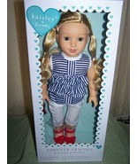 """Kaisley & Friends 18"""" Doll Blonde Hair in Summer Outfit New - $48.50"""