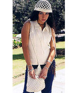 Sleveless Shirt with hat and bag, ecol. Pima Cotton - $65.00