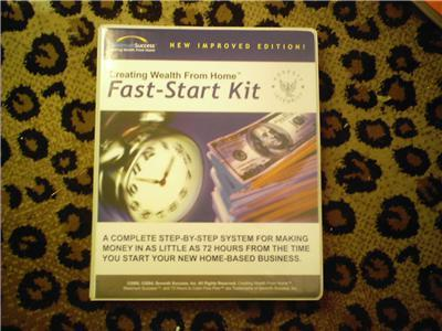 Creating Wealth From Home Fast-Start Kit 5CDs+Booklets