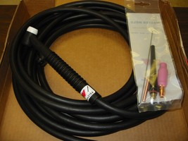 "WP17FV-25R TIG TORCH ""TIGMASTER"" AIR-COOLED 150AMP - MADE IN USA - $95.00"