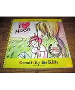 Coloring and ARTivity Book  *I LOVE HORSES* Creativity for Kids  Breyer ... - $15.83