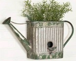Metal Watering Can Planter Outdoor Flowers Herbs Wall Patio Rustic Vintage Decor