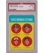 1963 Topps Pete Rose Rookie #537 PSA 4 P463 - $665.64