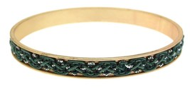 Fashion bracelet or bangle green design IAS11 - $12.51