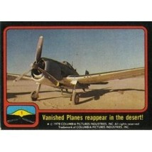 1978 Topps Close Encounters Of The Third Kind Vanished Planes Reappear In The De - $0.99
