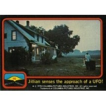 1978 Topps Close Encounters Of The Third Kind Jillian Senses The Approach Of A U - $0.99