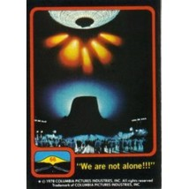 """1978 Topps Close Encounters Of The Third Kind """"WE ARE NOT ALONE!!!"""" #66 - $0.99"""