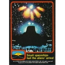 1978 Topps Close Encounters Of The Third Kind Small Spaceships Hail #62 - $0.99