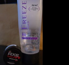 2 Items - Tresemme freeze hold ,Axe spiked-up look putty w/free shipping - $8.88