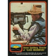 1978 Topps Close Encounters Of The Third Kind Steven Spielberg, Director #60 - $0.99
