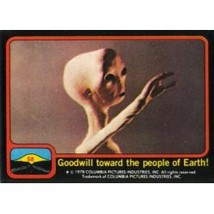1978 Topps Close Encounters Of The Third Kind Goodwill Toward The People Of Eart - $0.99