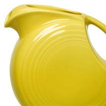 Fiesta Sunflower 28 Oz. Small Disc Pitcher  - $95.00