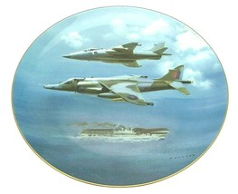 Coalport The Harrier Plate 1987 Frank Wootton Limited Edition plate of 5000 - $80.38