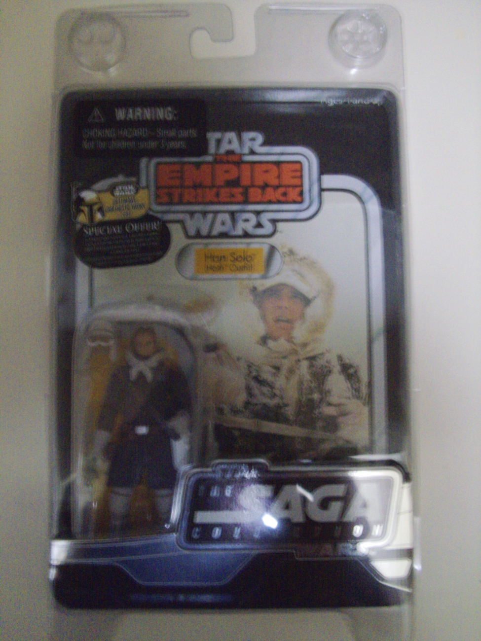 Star Wars The Empire Strikes Back Saga Collection Han Solo in Hoth Outfit - New