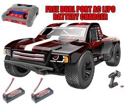 Team RedCat TR-SCE 1/10 Brushless SC Truck + 2 3200 Lipo Batteriesw/Free... - $409.99