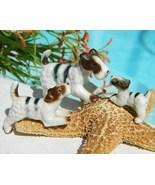 Vintage Wire Fox Terrier Dog Family Miniature Trio Set 3 Figurines - £13.57 GBP