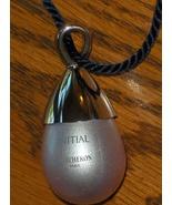 Boucheron Paris Initial Perfume Pendant Globe Necklace 0.17 oz On Black ... - $34.99