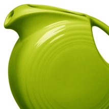 Fiesta Lemongrass 28 Oz. Small Disc Pitcher - $95.00