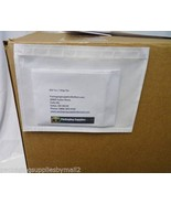 "10"" x 12"" Clear Packing List Envelope Plain Face 2 Mil Thick 4500 Pieces - $459.63"