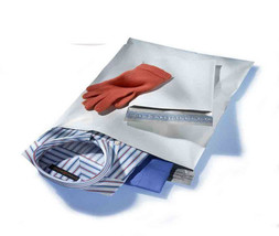 200 BAGS 100 EACH 6 x 9, 10 x 13,  WHITE POLY MAILERS - $22.16