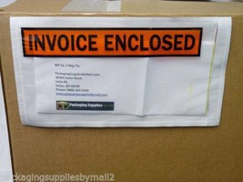 7 x 5.5 Invoice Enclosed Envelope - Panel Face ... - $1,435.53