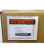 "7000 4 1/2 x 5 1/2 Packing List Slip Enclosed Stickers 4.5"" x 5.5"" Panel... - $131.11"