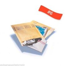 1000 #6 Quality (Kraft) 12.5 x 19 Bubble Mailers Envelopes 12.5 x 19 Inch - $363.25