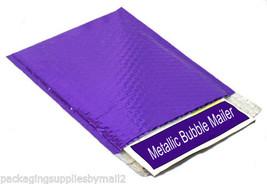 "Metallic Glamour Bubble Mailers Envelope Bags 400 Pieces 13"" x 17.5"" Purple - $366.75"