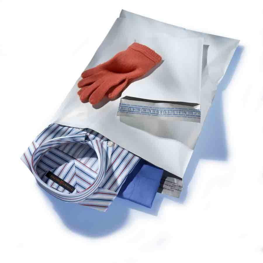 """14"""" x 19"""" White Poly Mailer EnvelopesSelf Sealing + Free Shipping 3 Mil  8000"""