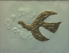 "Georges Braque ""Megaletor"" 1985 - S/N Embossed ... - $2,000.00"